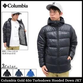 コロンビア Columbia ジャケット メンズ ゴールド 650 ターボダウン フーデッド ダウンジャケット(Gold 650 Turbodown Down JKT WE5430)