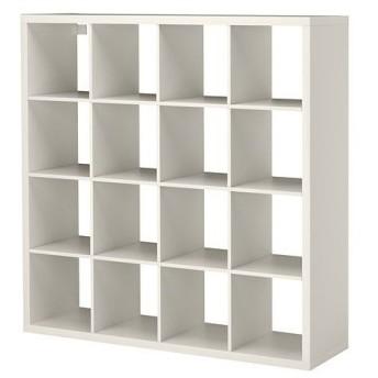 イケア・IKEA 書棚・本棚 KALLAX (カラックス)   シェルフユニット, ホワイト(603.518.82)