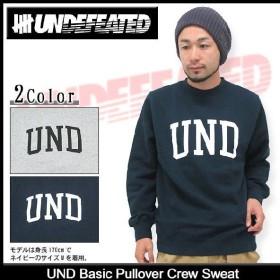 アンディフィーテッド UNDEFEATED UND ベーシック プルオーバー クルー スウェット(UNDFTD Pullover Sweat トレーナー メンズ トップス 5910355)