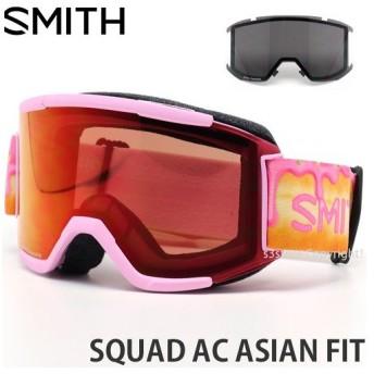 19model スミス スカッド AC アジアンフィット SMITH SQUAD AC ASIAN FIT カラー:GUS KENWORTHY レンズ:CHROMAPOP EVERYDAY RED MIRROR
