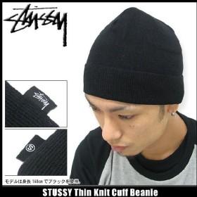 ステューシー STUSSY ビーニー Thin Knit Cuff ビーニー(stussy Stussy beanie ニット帽 メンズ 帽子 ニットキャップ 132491)