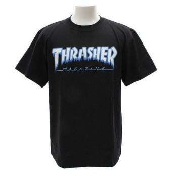THRASHER HOMETOWN 半袖Tシャツ TH81226BK (Men's)