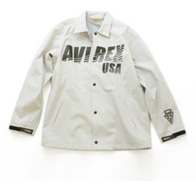 【AVIREX:アウター】【AVIREX STREET GEAR/TRACK】AVIREX/アヴィレックス/3レイヤー コーチジャケット/3LAYER COACH JACKET
