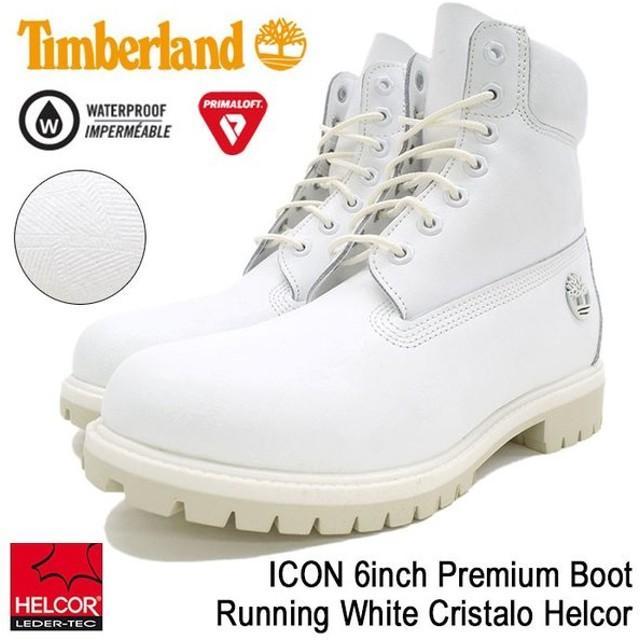 ティンバーランド Timberland ブーツ メンズ 男性用 アイコン 6インチ プレミアム Running White Cristalo Helcor(A1JSB ICON 6inch Boot)