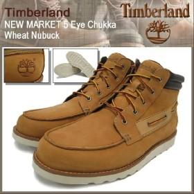 ティンバーランド Timberland ブーツ ニューマーケット 5アイ チャッカ ウィートヌバック メンズ (timberland 27582)