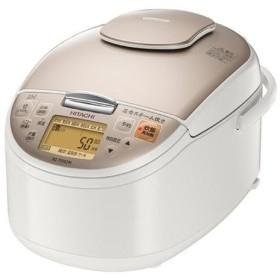 日立 RZ-TS102M(W) [シャンパンホワイト] 圧力スチームIHタイプ ジャー炊飯器 5.5合炊き