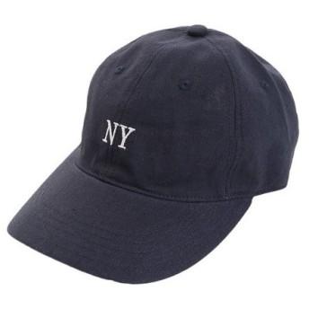 PGAC(PGAC) リネン刺繍 NY キャップ 897PA9ST1690 NVY (Men's)