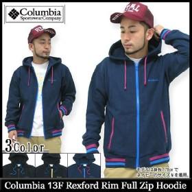 コロンビア Columbia 13F レックスフォード リム フルジップフード(Rexford Rim Full Zip Hoodie パーカー JAKET JACKET アウター メンズ PM9531)