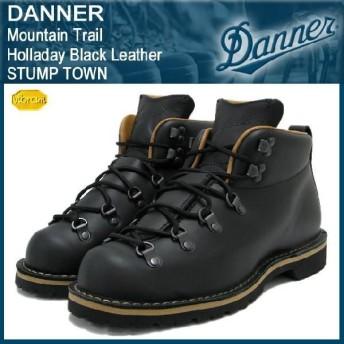 ダナー Danner マウンテン トレイル ブーツ Holladay ブラックレザー スタンプタウン(Danner DANNER D-12700 Mountain Trail Holladay STUMP TOWN ダナー)