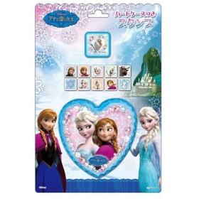 アナと雪の女王 ハートケースつきスタンプ