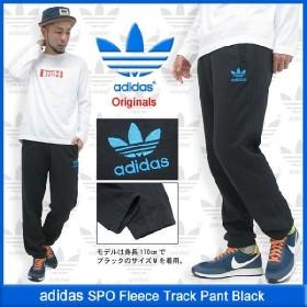 アディダス adidas SPO フリース トラック パンツ ブラック オリジナルス(SPO Fleece Track Pant Black Originals メンズ F84722)