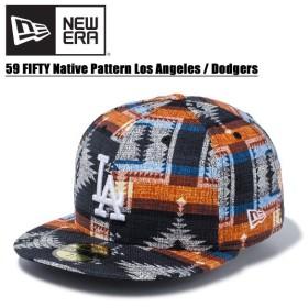 ニュー エラ NEW ERA  59FIFTY ネイティブパターン ロサンゼルス・ドジャース MLB キャップ 帽子 男性用 [BB]
