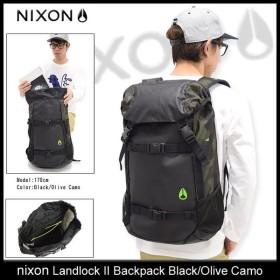 ニクソン nixon リュック ランドロック 2 バックパック ブラック/オリーブカモ(nixon Landlock II Backpack Black/Olive Camo NC19532428)