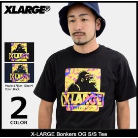 エクストララージ X-LARGE Tシャツ 半袖 メンズ ボンカーズ OG(x-large Bonkers OG S/S Tee カットソー トップス M17C1137)