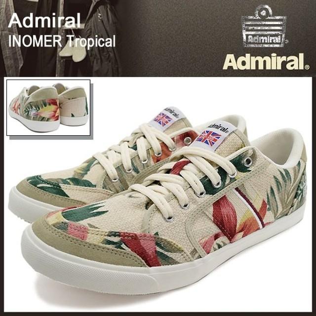 アドミラル Admiral スニーカー イノマー トロピカル メンズ 男性用(admiral ADMIRAL inomer tropical SJAD1509-918)