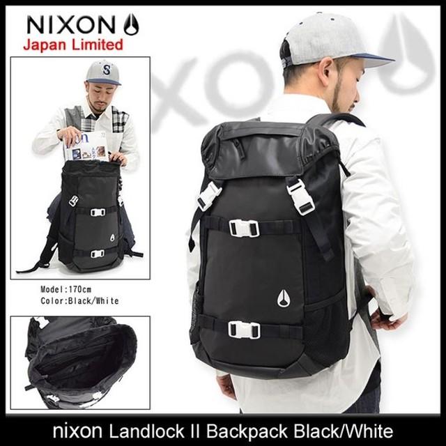 ニクソン nixon リュック ランドロック 2 バックパック ブラック/ホワイト 日本限定(Landlock II Backpack Black/White NC1953005)