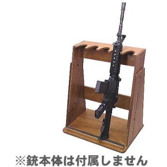 送料無料 ファクトリーブレイン ライフル5挺掛け変動型 ガンスタンド GS01N1