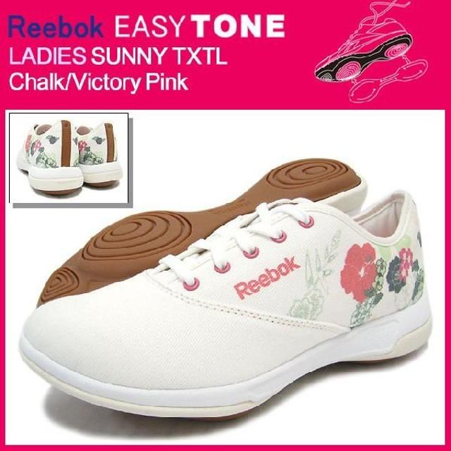 a7243bb844df9a リーボック Reebok イージートーン レディース サニー TXTL Chalk/Victory Pink(reebokEASYTONE  LADIES SUNNY レディース