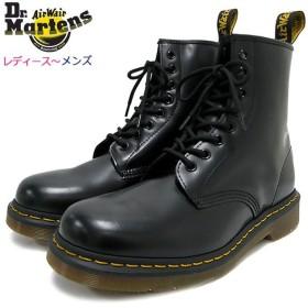 ドクターマーチン ブーツ Dr.Martens 8ホール レディース & メンズ 1460 8アイ ブーツ ブラック (1460 8 EYE BOOT Black 8ホール R11822006)