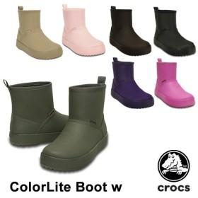 クロックス CROCS  クロックス カラーライト ブーツ ウィメン crocs ColorLite boot w  レディース  女性用[CC]