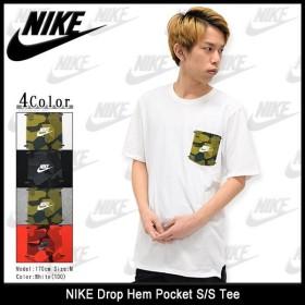 ナイキ NIKE Tシャツ 半袖 メンズ ドロップ ヘム ポケット(nike Drop Hem Pocket S/S Tee カットソー トップス 男性用 805209)