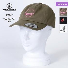 VOLCOM/ボルコム レディース キャップ 帽子 ぼうし サイズ調節可 アウトドア E5511902