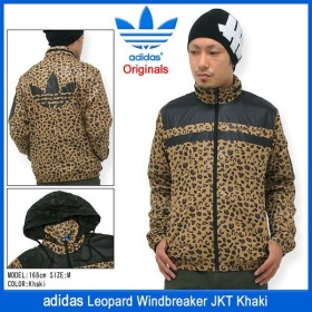 アディダス adidas レオパード ウィンドブレーカー ジャケット カーキ オリジナルス(Leopard Windbreaker Originals メンズ 男性用 M33845)