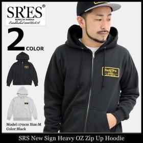 エスアールエス SRES パーカー ジップアップ メンズ ニュー サイン ヘビーオンス ジップ アップ フーディー(New Sign Heavy OZ Hoodie)