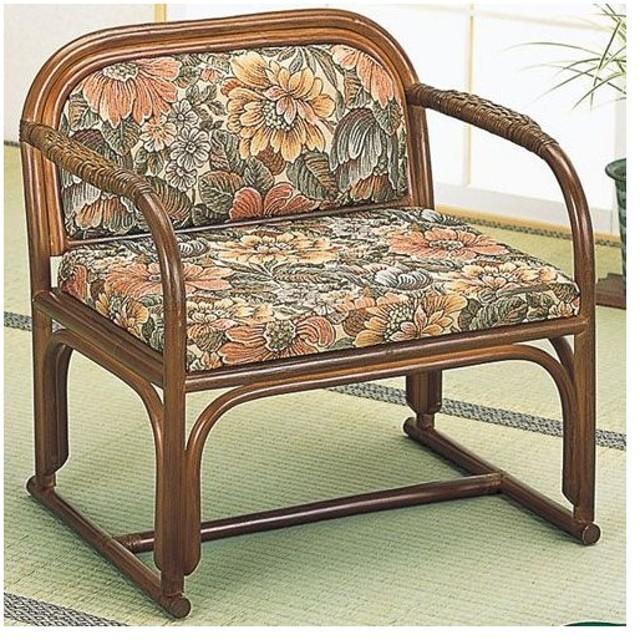 籐椅子 籐チェア ラタンチェア 籐 籐製 ラタン アームチェア 籐アームチェア パーソナルチェア 椅子 チェア 籐座椅子 座椅子 高座椅子