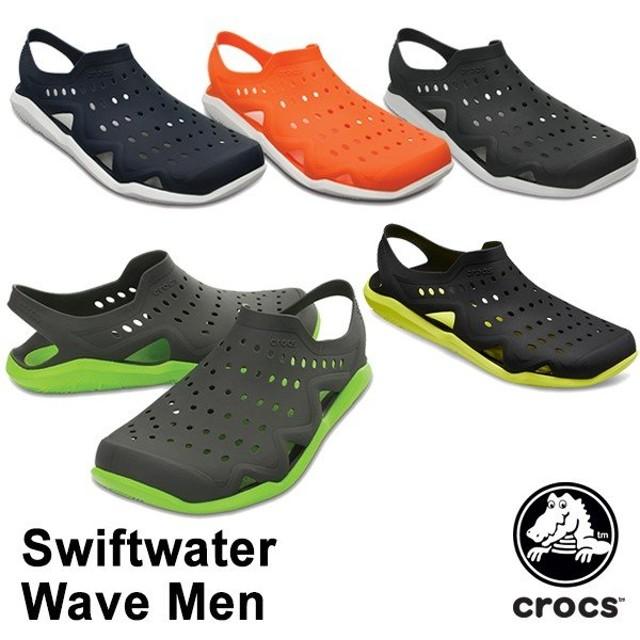 CROCS クロックス サンダル swiftwater wave men 203963