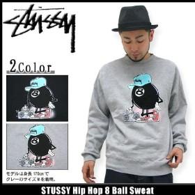 ステューシー STUSSY Hip Hop 8 Ball スウェット(stussy sweat トレーナー トレナー トレイナー メンズ・男性用 1913153)