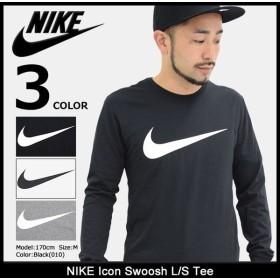 ナイキ NIKE Tシャツ 長袖 メンズ アイコン スウッシュ(nike Icon Swoosh L/S Tee ロンt カットソー トップス 男性用 709492)