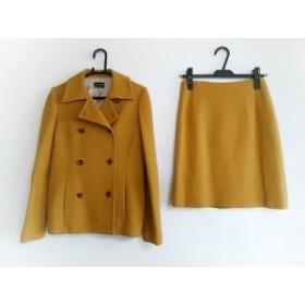 ユナイテッドアローズ UNITED ARROWS スカートスーツ サイズ38 M レディース ライトブラウン SLITZ/厚手【中古】