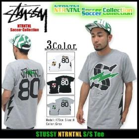ステューシー STUSSY NTRNTNL Tシャツ 半袖 NTRNTNL サッカー コレクション(stussy tee トップス 限定 メンズ・男性用 3902664)