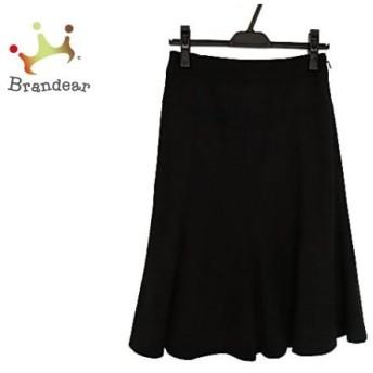 ニジュウサンク 23区 スカート サイズ38 M レディース 美品 黒 Vingt-trois arrondissements スペシャル特価 20190913