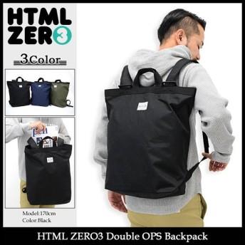 エイチティエムエル ゼロスリー HTML ZERO3 リュック ダブル OPS バックパック(Double OPS Backpack デイパック メンズ レディース)