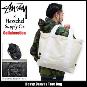 ステューシー STUSSY トートバッグ Herschel Heavy Canvas コラボ(STUSSY×Herschel tote bag メンズ レディース 134148 小物)