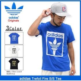 アディダス adidas Tシャツ 半袖 メンズ トレフォイル ファイヤー オリジナルス(Trefoil Fire S/S Tee Originals AZ1032 AZ1033 AZ1031)