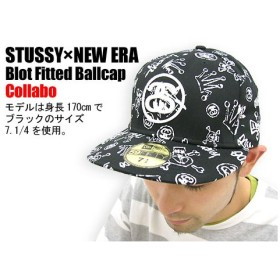 STUSSY(ステューシー)×NEW ERA Blot Fitted Ballcap コラボ