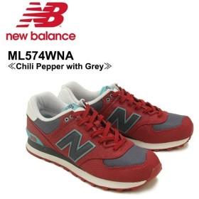 ニュー バランス New Balance  ML574 574 ランニング スニーカー  ML574WNA Chili Pepper with Grey シューズ メンズ 男性用[CC]
