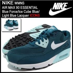 ナイキ NIKE ウーマンズ エア マックス 90 エッセンシャル Blue Force/Ice Cube Blue/Light Blue Lacquer 限定 メンズ(男性用) (616730-400)