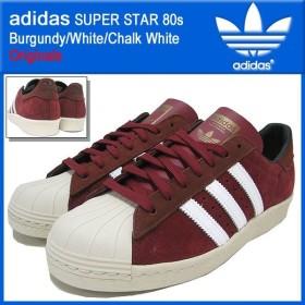 アディダス adidas スニーカー スーパースター 80s Burgundy/White/Chalk White オリジナルス メンズ(男性用)(SUPER STAR Originals M20925)