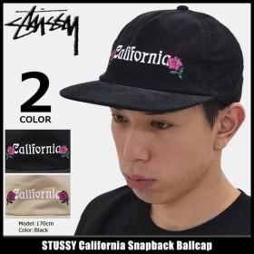 ステューシー キャップ 帽子 STUSSY California Snapback Cap(スナップバック メンズ・男性用 131687)