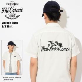クライミー シャツ 半袖 CRIMIE メンズ ビンテージ オープン(crimie Vintage Open S/S Shirt オープンカラー トップス C1H1-SH13)