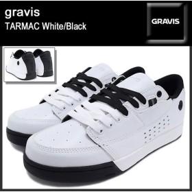 グラビス gravis スニーカー ターマック White/Black メンズ(男性用)(gravis TARMAC White/Black 14169101-036)