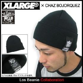 エクストララージ X-LARGE×チャズ ボヨーケズ ロス ビーニー コラボ(x-large×CHAZ BOJORQUEZ Los Beanie ニット帽 メンズ XLARGE M7E13187)