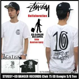 ステューシー STUSSY×ED BANGER RECORDS Club 75 ED Bangin Tシャツ 半袖 コラボ(stussy tee ティーシャツ T-SHIRTS トップス メンズ 3902593)