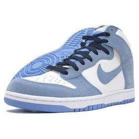 NIKE(ナイキ) DUNK HIGH White/University Blue-Obsidian 日本未発売