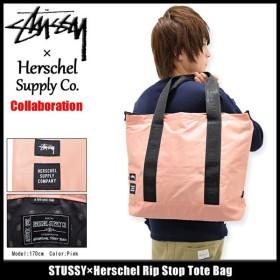 ステューシー STUSSY トートバッグ Herschel Rip Stop コラボ(STUSSY×Herschel tote bag メンズ レディース 134153 小物)