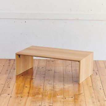 Slim すっきり折りたたみ可能なテーブル105ナチュラル